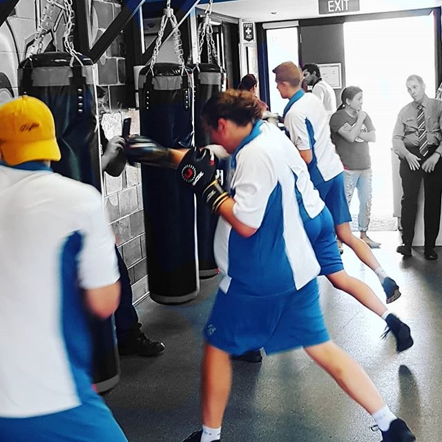 school Kids Boxing